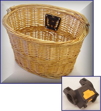 Bicycle Basket Wicker