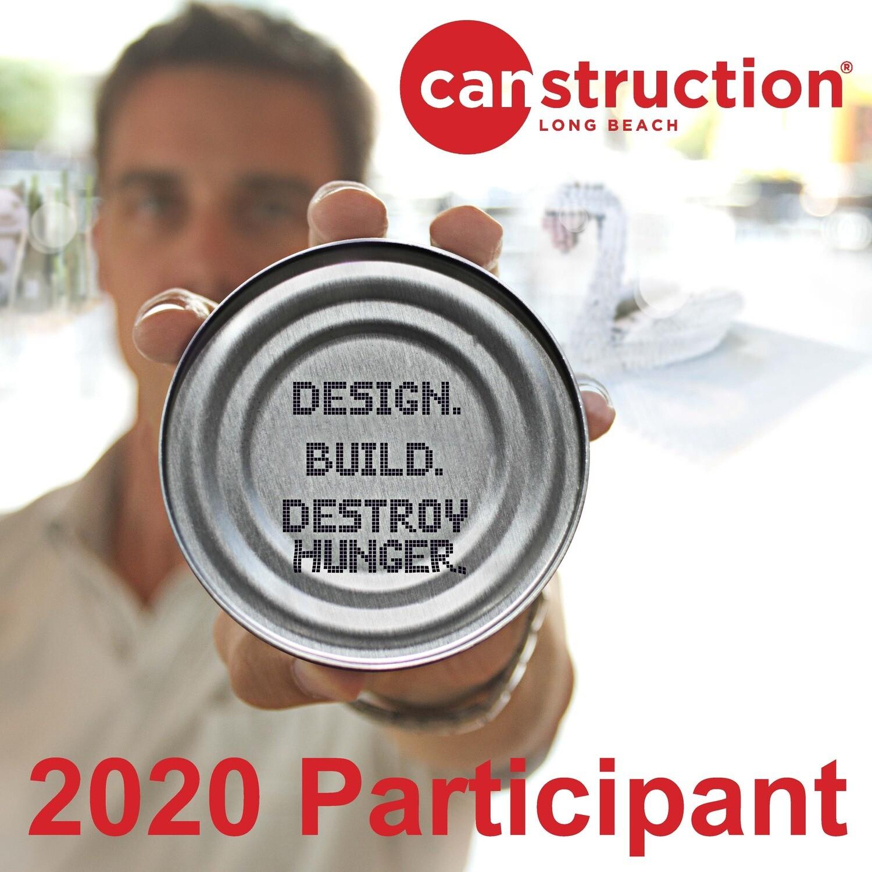 2020 CANstruction Participant