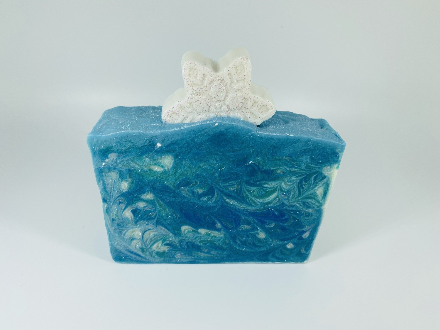 """""""Frozen"""" bar soap (Soft musky florals)(pre-order available, ready by 17 Jul)"""