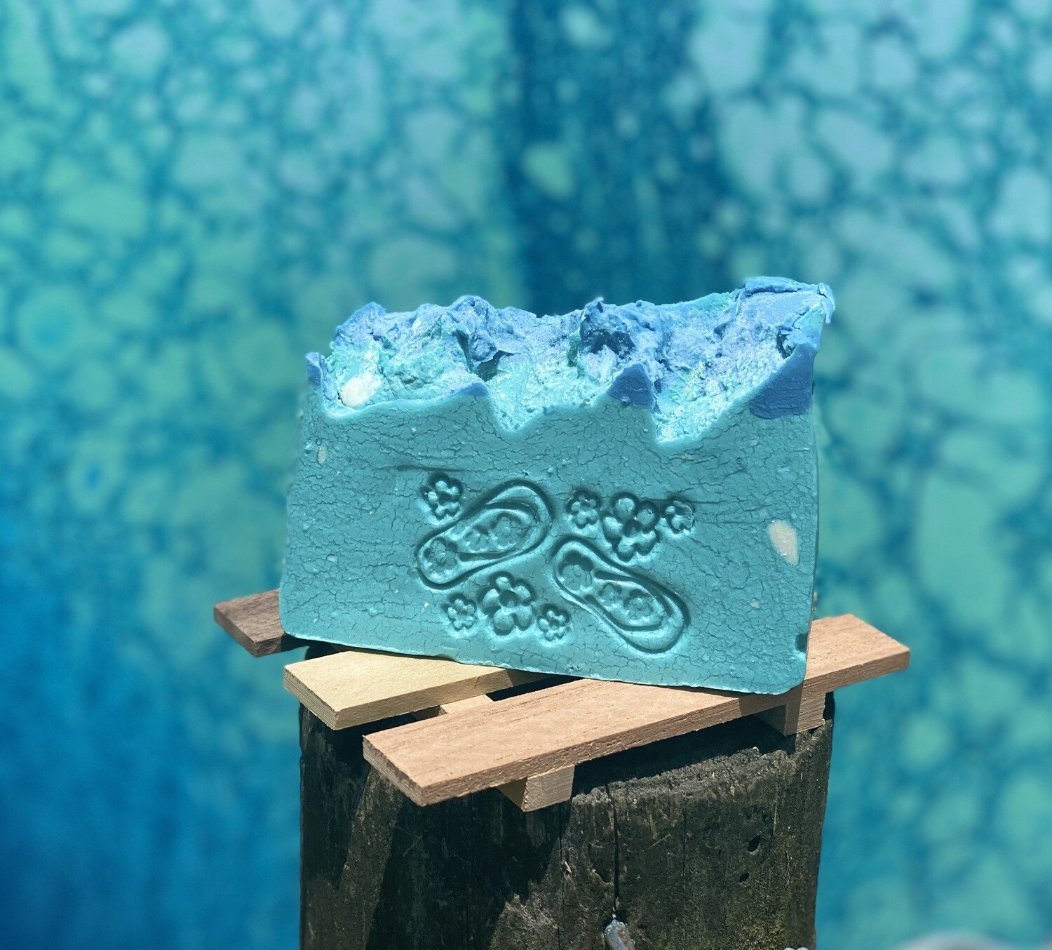 """Life's a Beach"" bar soap (Polynesian Hibiscus scented)(pre-order available, ready by 13 Jul)"