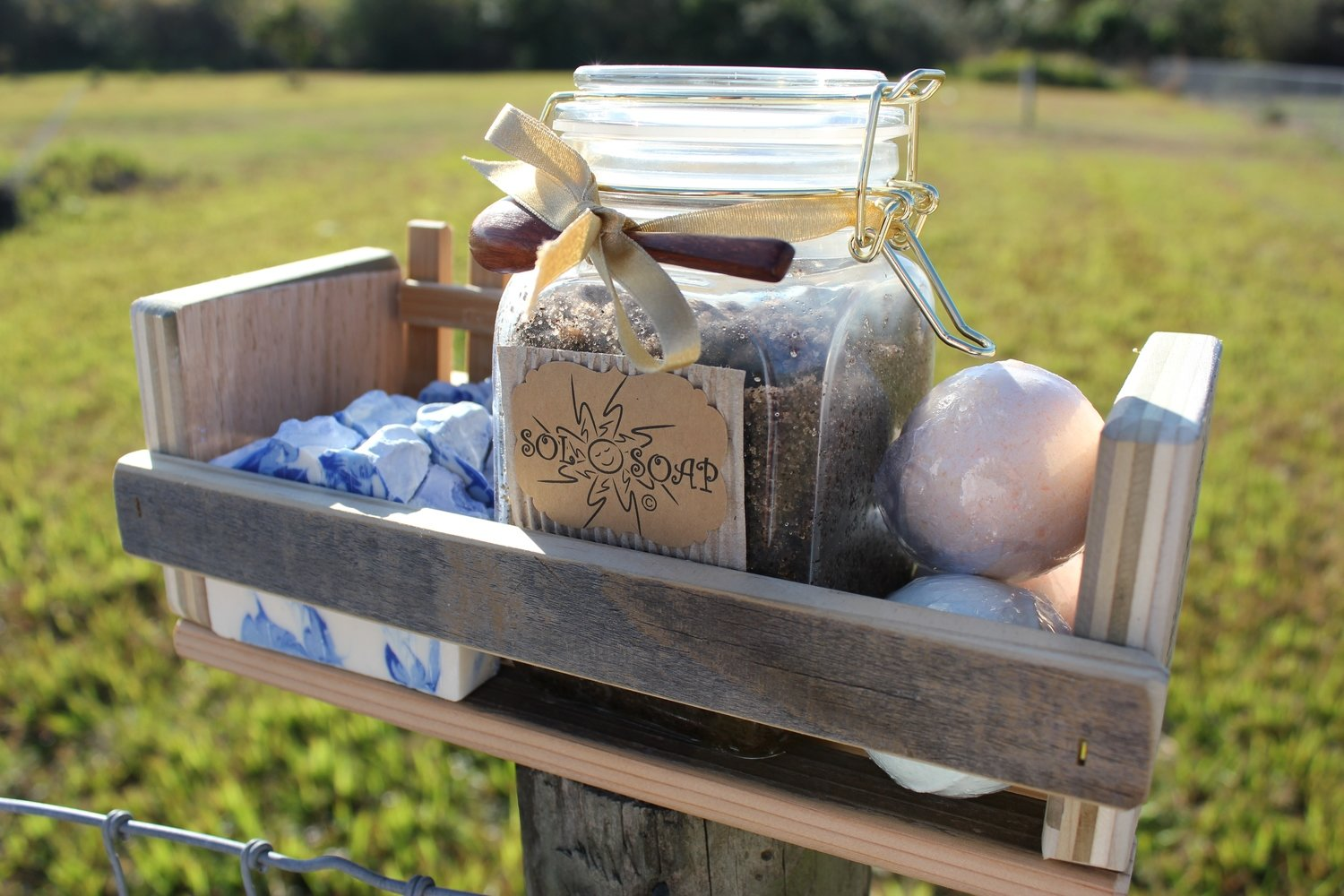 """Gift Set """"Crate of Sunshine""""  (See Product Details)"""