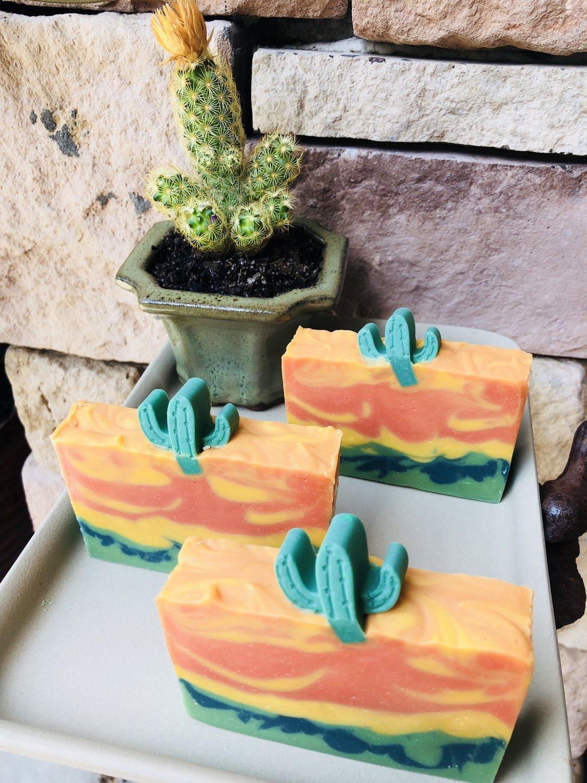 """""""Cactus Cooler""""  (Pineapple, Orange Scented)"""