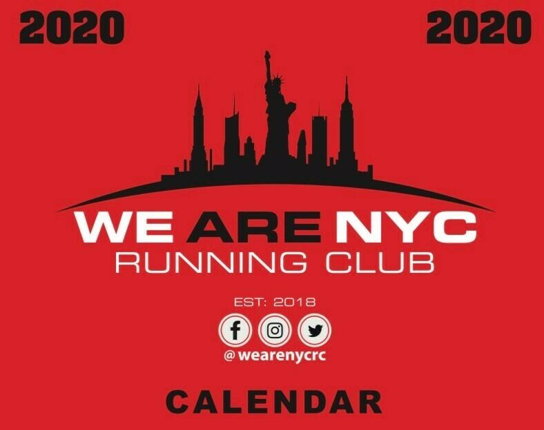 WE ARE NYC RUNNING CLUB 2020 WALL CALENDAR