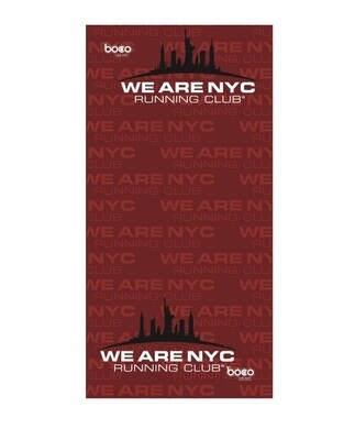 NEW! We Are NYC Running Club - Official Runners Gaiter / Running Buff By BOC