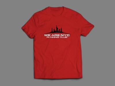 WE ARE NYC RED RACE DAY SHORT SLEEVE T-SHIRT