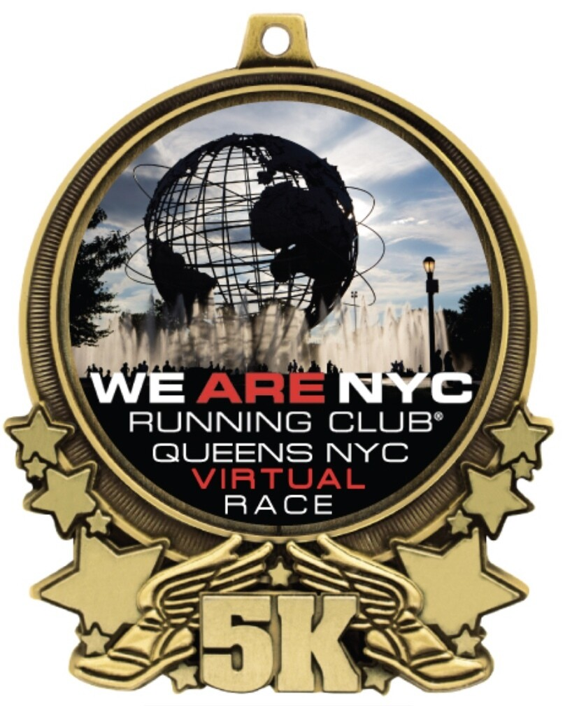 VIRTUAL RACE - June 6th - June 7th We Are NYC Running Club QUEENS 5k!