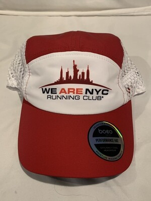 NEW! We Are NYC Running Club - Official Runners Cap VENTILATE By Boco Gear