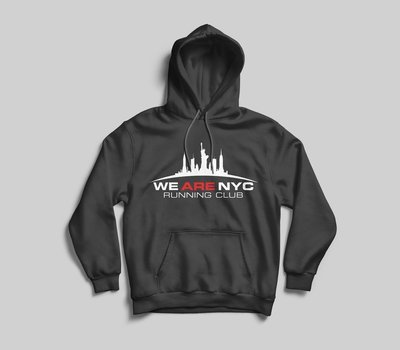 WE ARE NYC OFFICIAL LOGO HOODED SWEATSHIRT - AVAILABLE IN 7 COLORS!