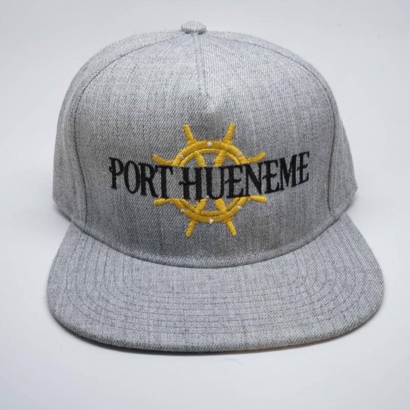 Port Hueneme Captains Wheel Hat