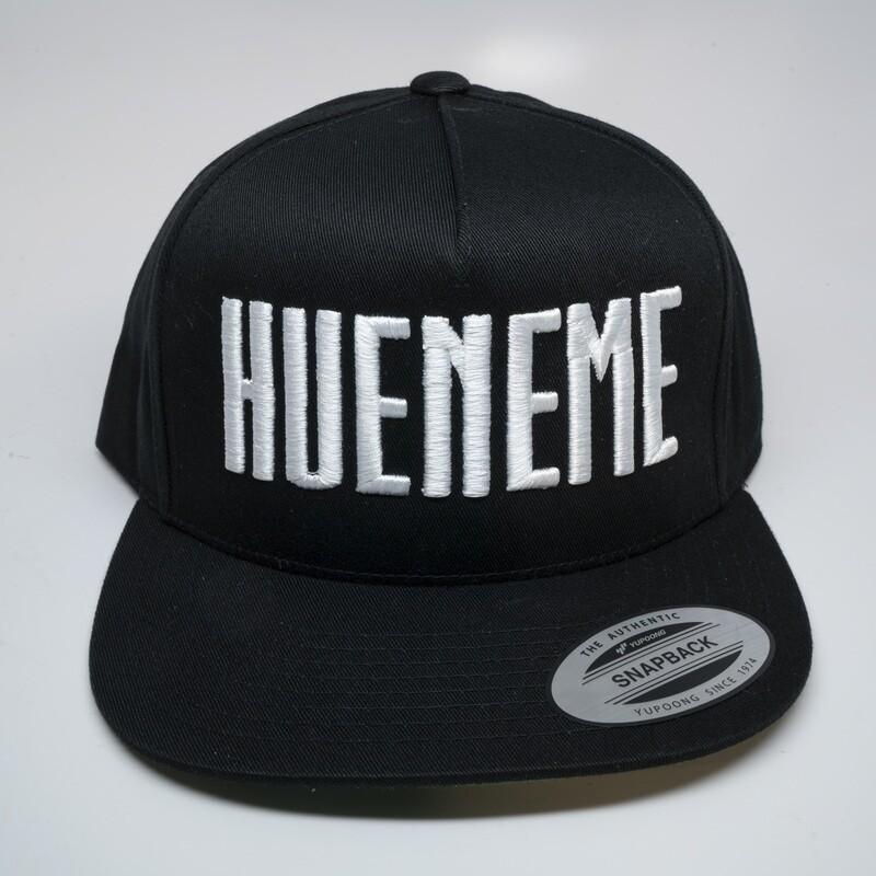HUENEME Black Snapback