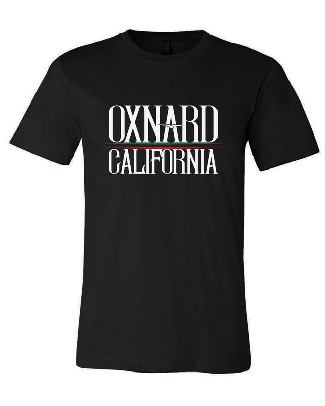 Oxnard California GG Mens T-shirt Black
