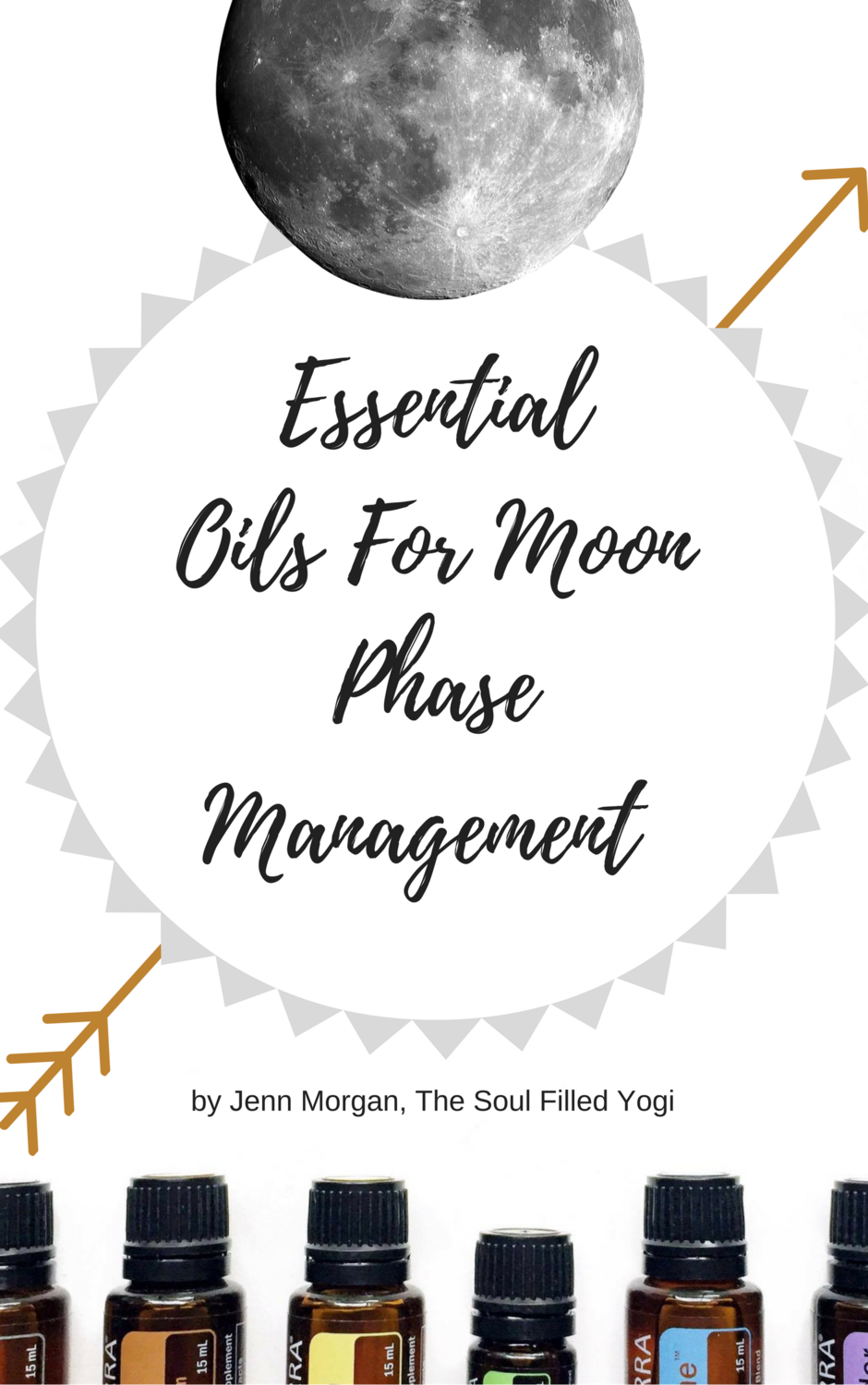 Essential Oils for Moon Phase Management E-Book (Instant Download)