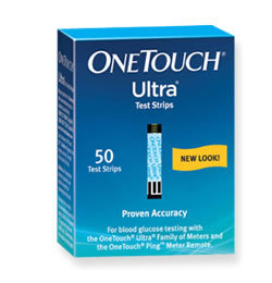 OneTouch Ultra ® control solution contains a known amount of glucose and is used to check that the meter and the test strips are working properly. See full instructions in your User Guide on how to perform a control solution test.