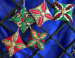 My Kid and Me - Learning to Quilt -CATHEDRAL WINDOW ORNAMENTS -3 Hour Class -  SATURDAY, NOVEMBER 9TH - 9am-NOON