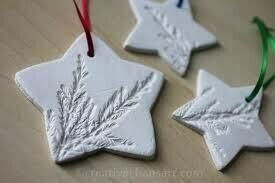 Clay ornaments - OCTOBER 26TH, 2019 from 9 am - noon