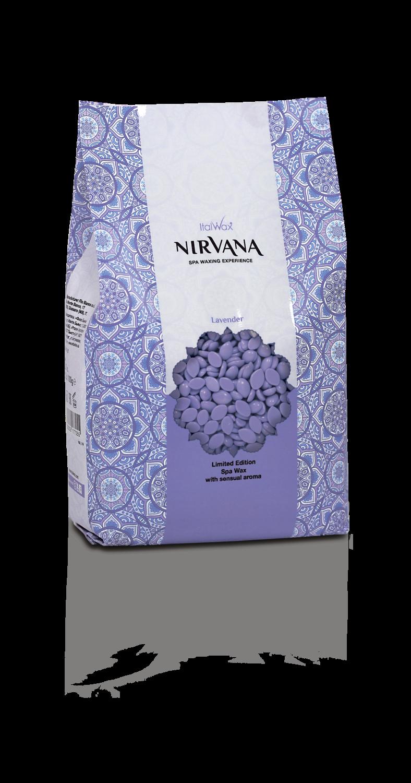 WhiteLine - ITALWAX Горячий плёночный воск Nirvana ЛАВАНДА гранулы, 1000гр