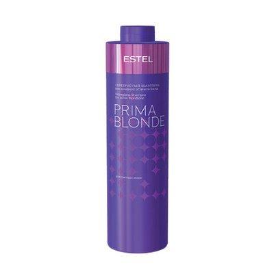 Серебристый шампунь для холодных оттенков блонд ESTEL PRIMA BLONDE, 1000мл