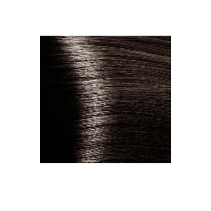 Крем-краска для волос KAPOUS HYALURONIC ACID 5.07 светлый коричневый натуральный холодный 100мл.