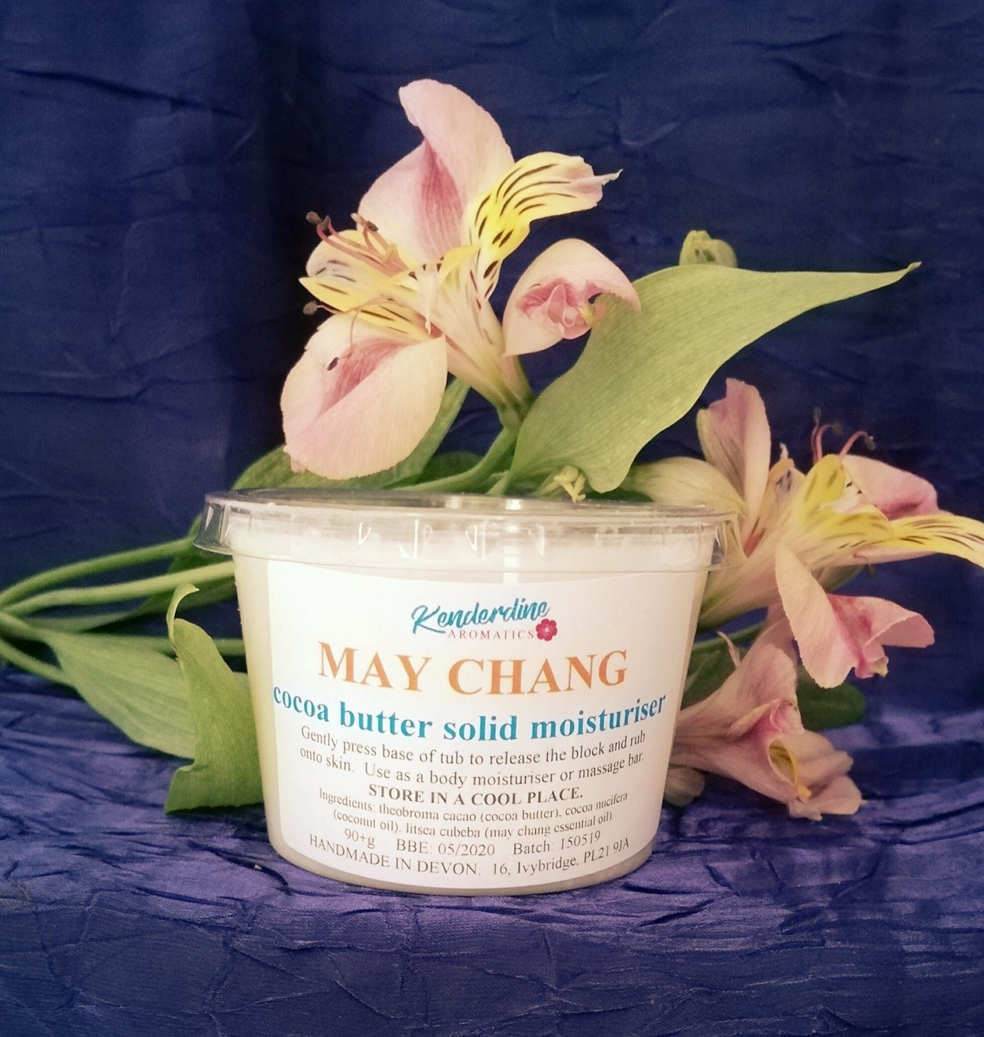 Cocoa butter solid moisturiser - May Chang