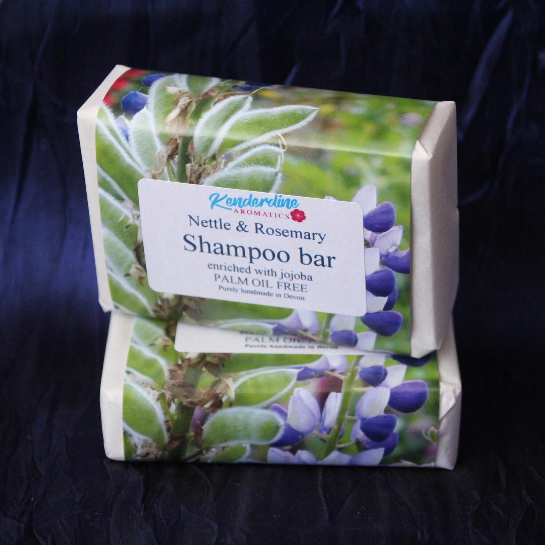 Shampoo bar - nettle and rosemary