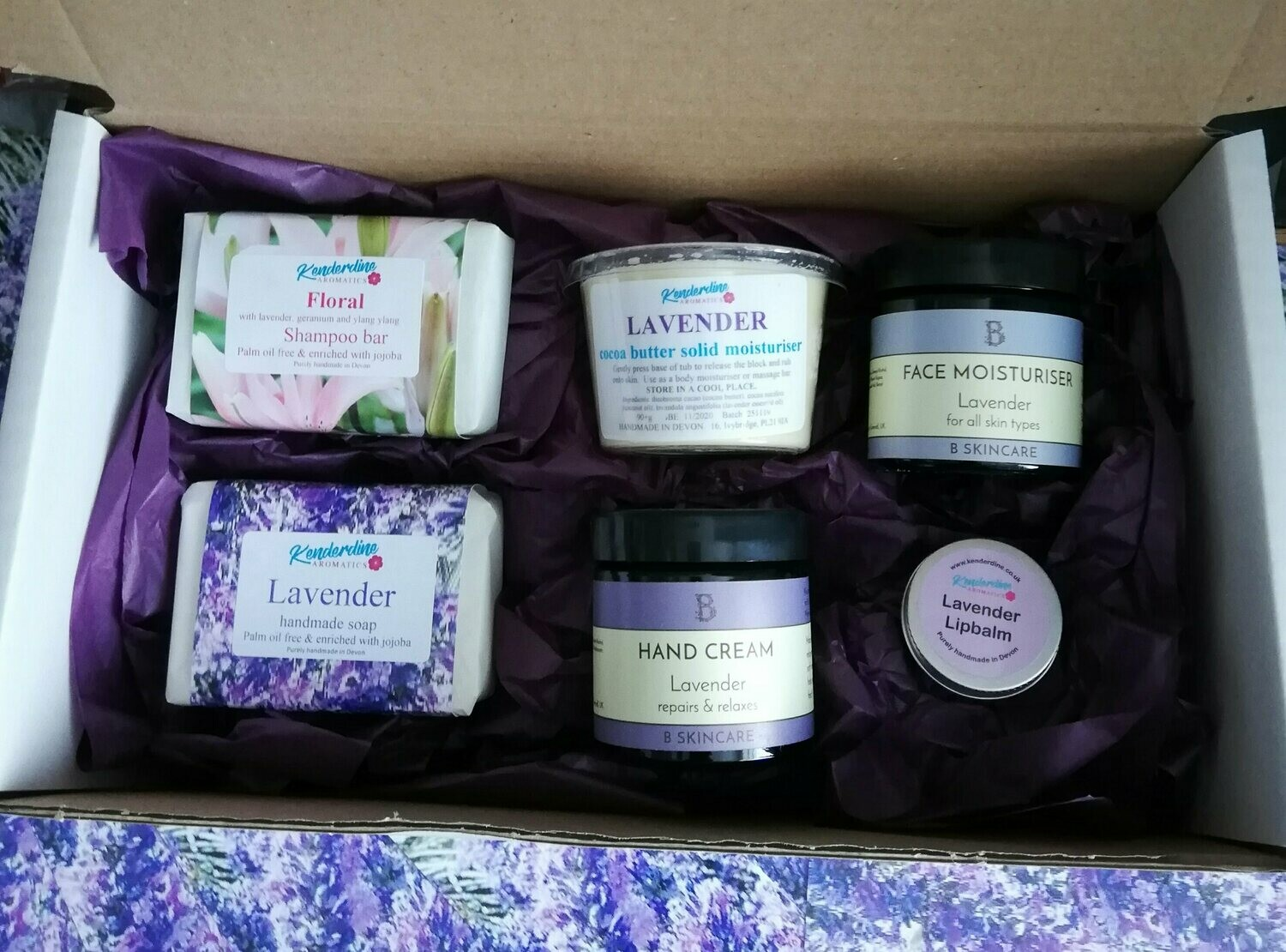 Treat box of lavender