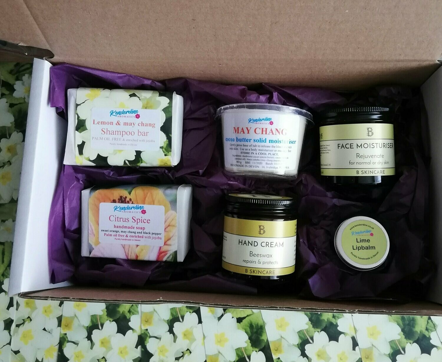 Treat box of citrus scents
