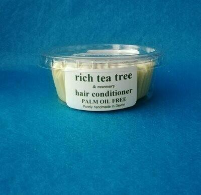 Rich hair conditioner - tea tree