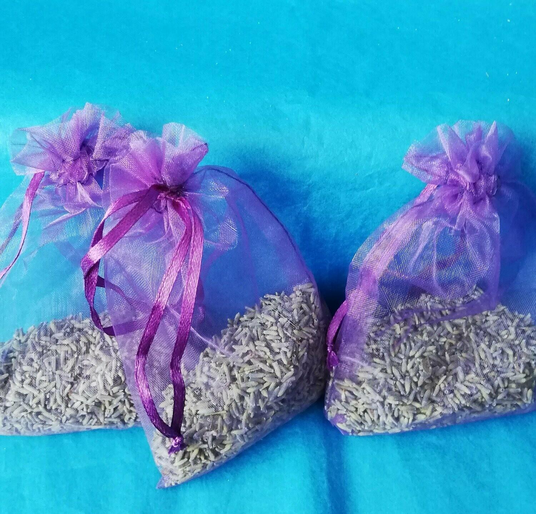 Lavender bags -organic  (three)