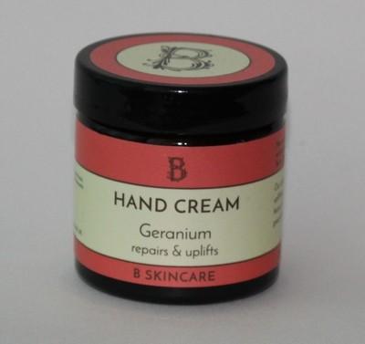 B Skincare Geranium hand and foot cream
