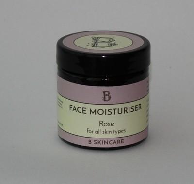 B Skincare Rose and honey moisturiser