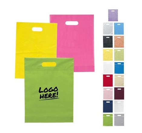 Starting at $0.33 ea 500-Die Cut Plastic Bag