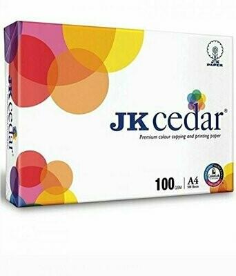 JK Cedar Paper - A4, 500 Sheets, 100 GSM, 1 Ream