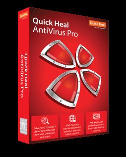 1 User, 3 Year, Quick Heal Antivirus Pro