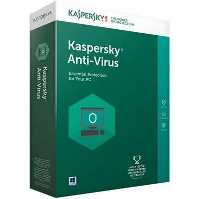 1 User, 3 Year, Kaspersky Antivirus