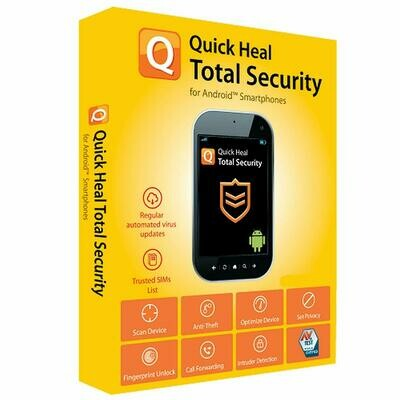 1 Device, 3 Year, Quick Heal Total Security, For Android