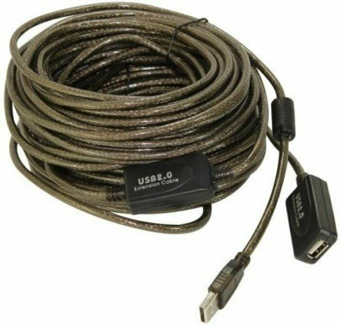 Haze 20mtr USB Extension Cable with IC