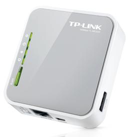 TP-Link MR3020 Wireless Router, WAN, 3G/4G