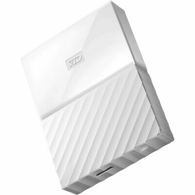 WD 2TB My Passport USB External Hard drive, White