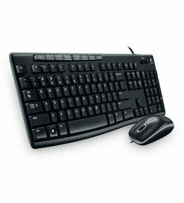 Logitech MK200 Media Keyboard Mouse