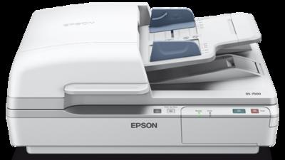Epson WorkForce DS-7500 Flatbed Document Scanner, Duplex, ADF