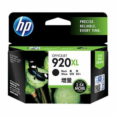 HP 920 XL Ink Cartridge, Black
