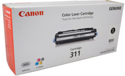 Canon 311 Toner Cartridge, Black