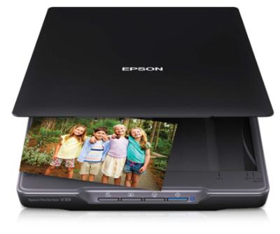 Epson Perfection V39 Flatbed Color Scanner