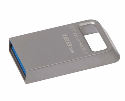 Kingston 128GB Pen Drive, 3.1, DTMC3, Metal