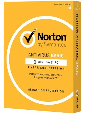 Norton Antivirus Basic, 1 Device, 12 Months
