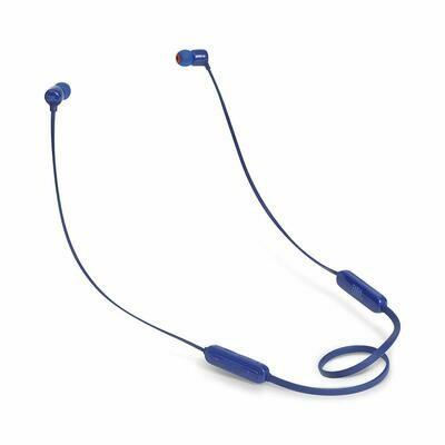 JBL T110BT Wireless in-Ear Headphones with Mic, Blue