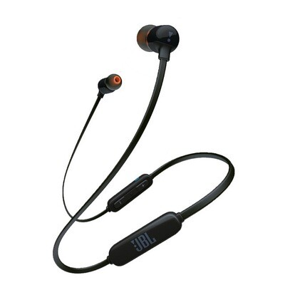 JBL T110BT in-ear Bluetooth Headphone, Black