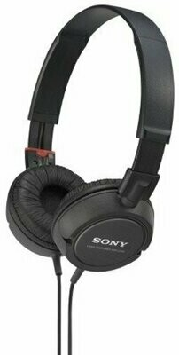 Sony MDR-ZX110 On-Ear Stereo Headphones Black, without mic