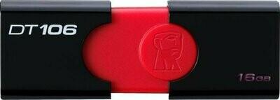 Kingston 16GB Pen Drive, 2.0, DT-106
