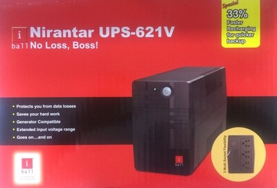iBall Nirantar 621V Ups extended Backup